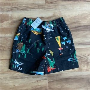 Hanna Andersson boy's swimming trunks